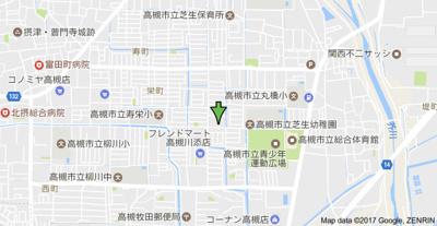 【地図】コーポラス栄 (株)Roots