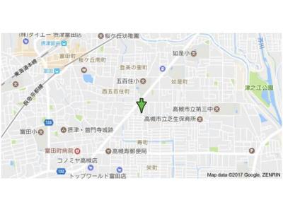 【地図】三和マンション (株)Roots