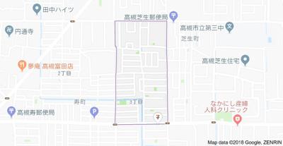 【地図】第一寿コーポ (株)Roots