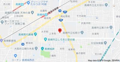 【地図】第5寿コーポ (株)Roots