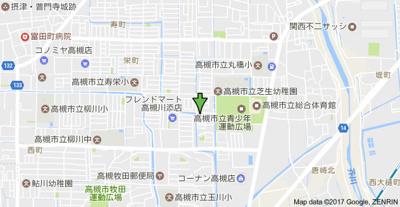 【地図】ドリームオアシス (株)Roots