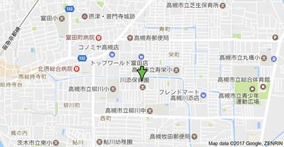 【地図】西町ロイヤルマンション (株)Roots