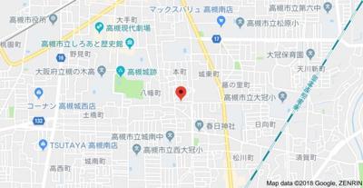 【地図】八幡荘