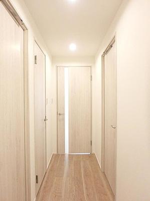 玄関からお部屋が見え辛いつくりになっています。
