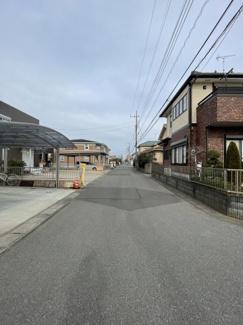 【前面道路含む現地写真】東金市田間 中古戸建 JR東金線