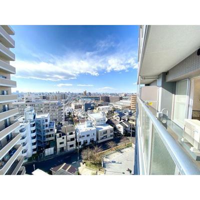 10階部分につき良好な眺望が楽しめます。