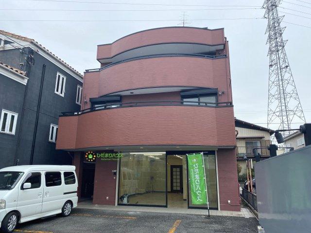 【外観】久喜市青毛1丁目 店舗付き中古戸建て