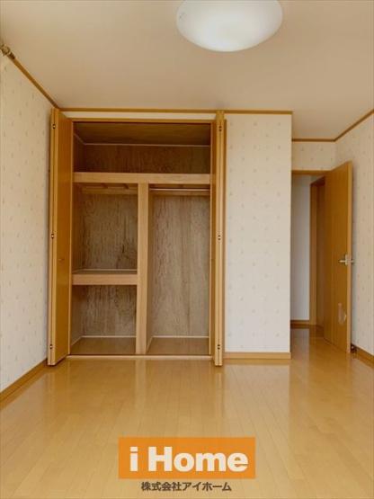 1階洋室 約6.6帖/収納 全居室収納あります!