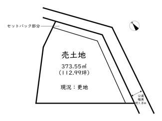 【土地図】たつの市龍野町末政/売土地