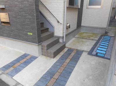 COMS桜上水の駐輪スペース