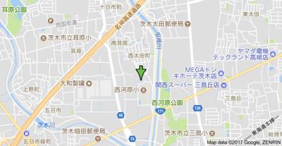 【地図】サンクリエイトⅡ