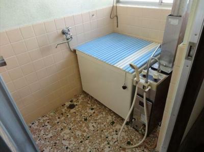 【浴室】コーポ寿B