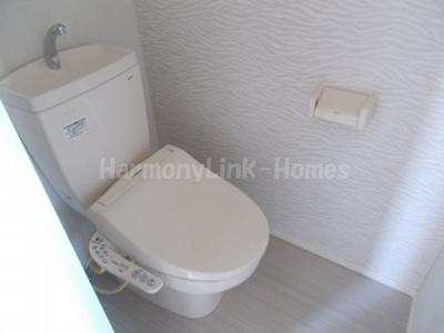 プラウド上北沢の落ち着いたトイレです☆
