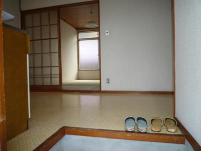 【玄関】コーポ久松 東棟