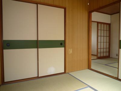 【寝室】コーポ久松 東棟