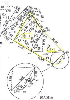 【土地図】千葉市中央区赤井町 売地 JR総武線