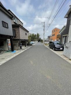 【前面道路含む現地写真】千葉市中央区赤井町 売地 JR総武線