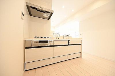 システムキッチンは新規交換済みです。