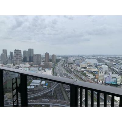 東京ゲートブリッジが臨める眺望良好な物件です。