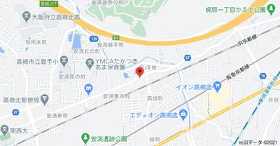 【地図】山手町1丁目貸家 (株)Roots