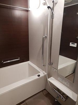 追い炊き機能浴室はいつでも入浴可能です。