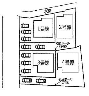 【区画図】リナージュ野洲市吉地20―1期