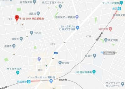 【地図】アジュールタカサゴ