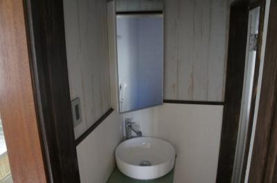 【洗面所】三宅邸貸家