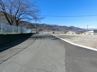西道路から撮影