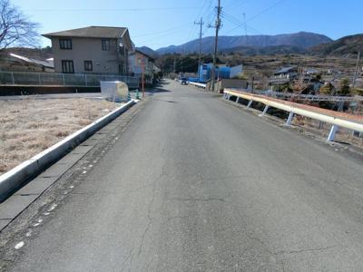 北道路から撮影