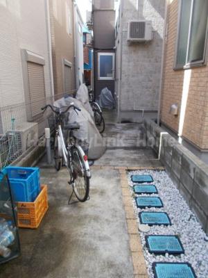 ロマンシングの駐輪スペース☆