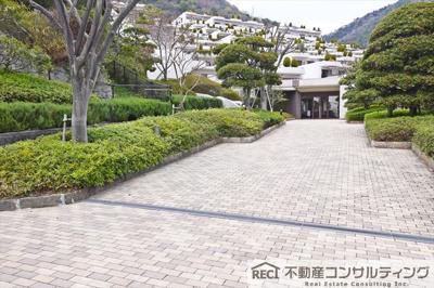 【居間・リビング】ジオ六甲山手