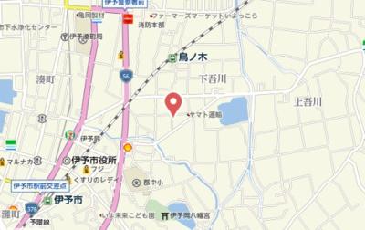 【地図】エーデルハイム栗田