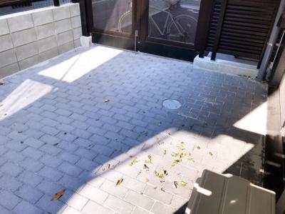 【バルコニー】ルネサンスコート三軒茶屋カルム