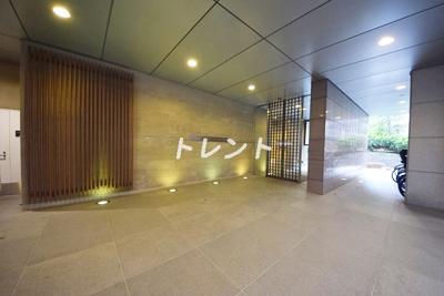 【エントランス】市ヶ谷スクエアレジデンス(旧市ヶ谷東急ビルSTUDIO)
