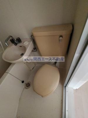 【トイレ】サンライフ若江