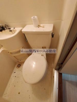 【トイレ】ハーモニーハイツ花園