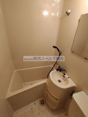 【浴室】ハーモニーハイツ花園