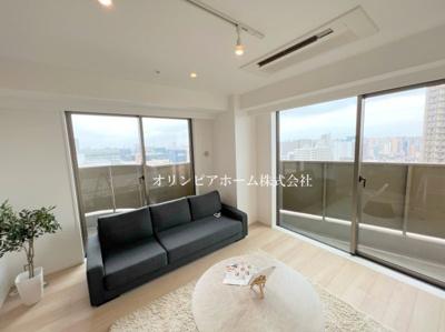 【外観】ザガーデンタワーズ サンセットタワー 13階 空室 大島1丁目