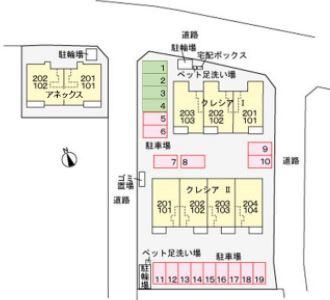 【区画図】クレシアⅠ