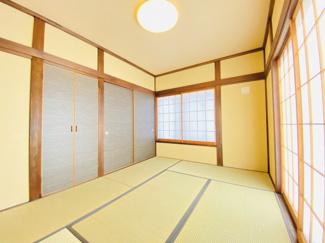 千葉市若葉区桜木北 中古戸建て 桜木駅 6帖のゆったりとした雰囲気の和室となっております。
