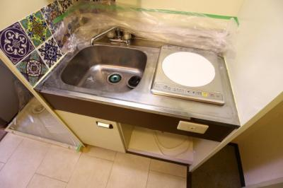 IHコンロは吹き零れてもさっと拭くだけでOK、簡単で清潔です。