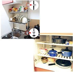 キッチン周りはこんな風にレイアウトされてみてはいかがでしょうか?