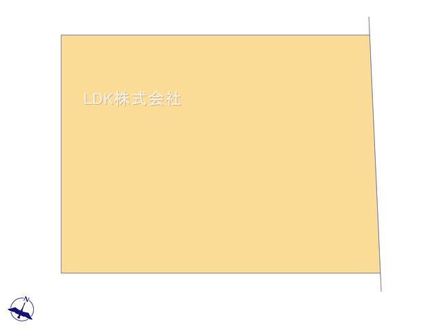 【区画図】未入居戸建/ふじみ野市大井中央3丁目(全1棟)