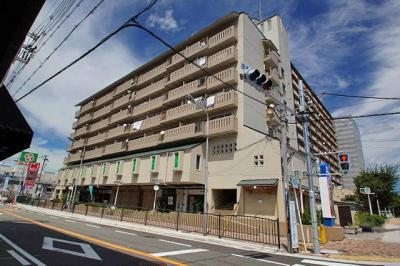 【外観】グリーンモール高石 店舗事務所2階 約50坪