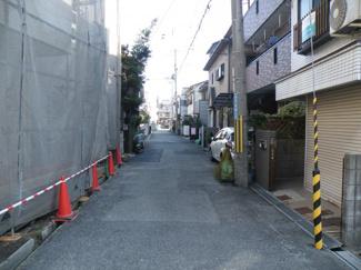 【前面道路含む現地写真】尼崎市浜 中古戸建