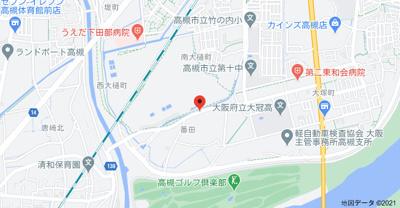 【地図】山昌マンション (株)Roots