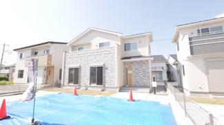 【外観】甲斐市竜王 新築戸建全2棟 2号棟 全室南向き 長期優良住宅