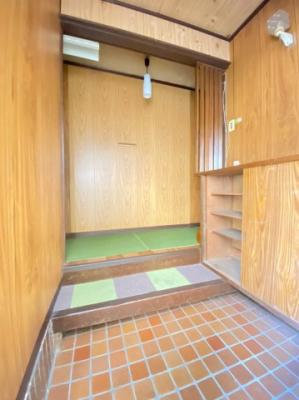 【玄関】高丸7丁目貸家
