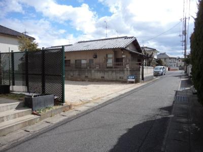 【前面道路含む現地写真】倉田土地
